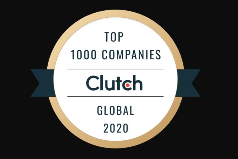 Clutch 1000 rank logo