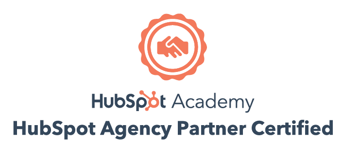 We are a HubSpot Certified Agency Partner