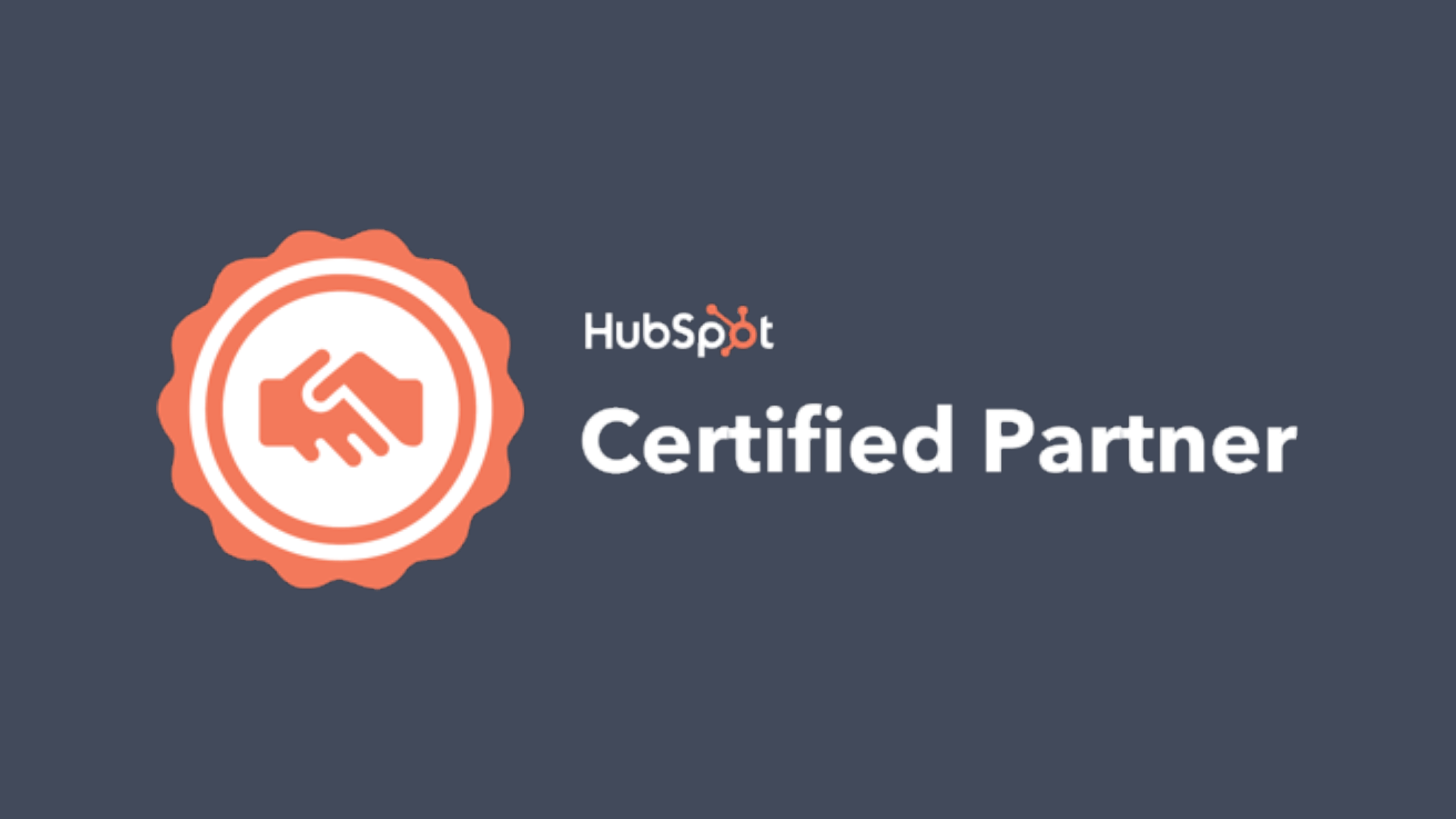 HubSpot Certified Agency Partner logo