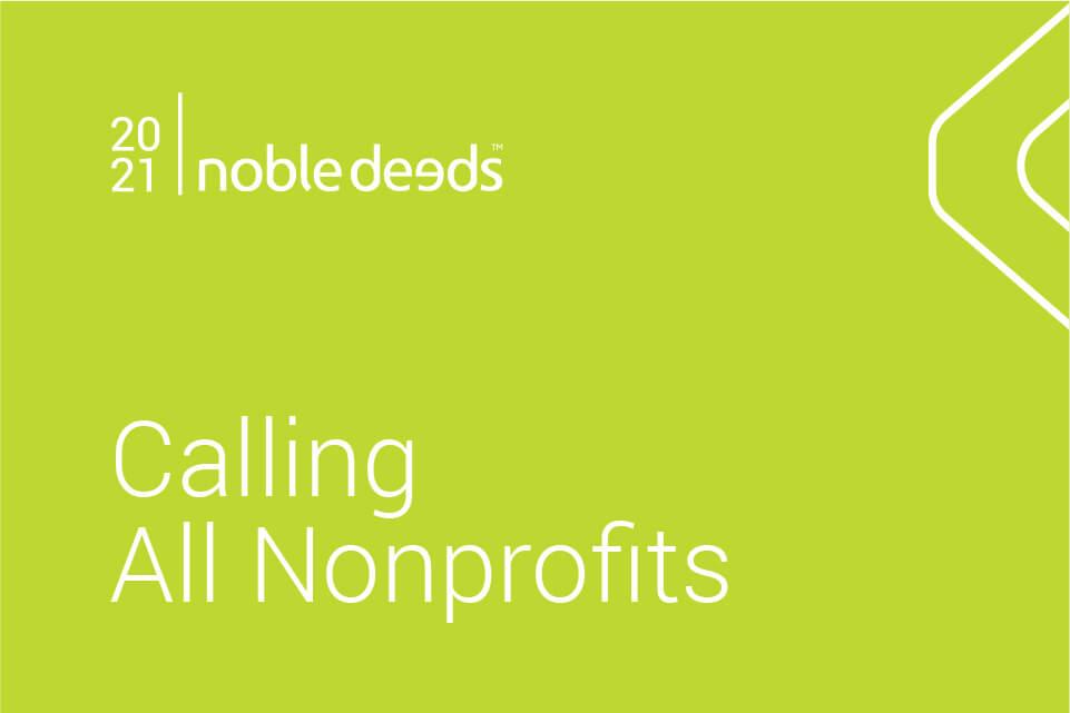 Calling all nonprofits