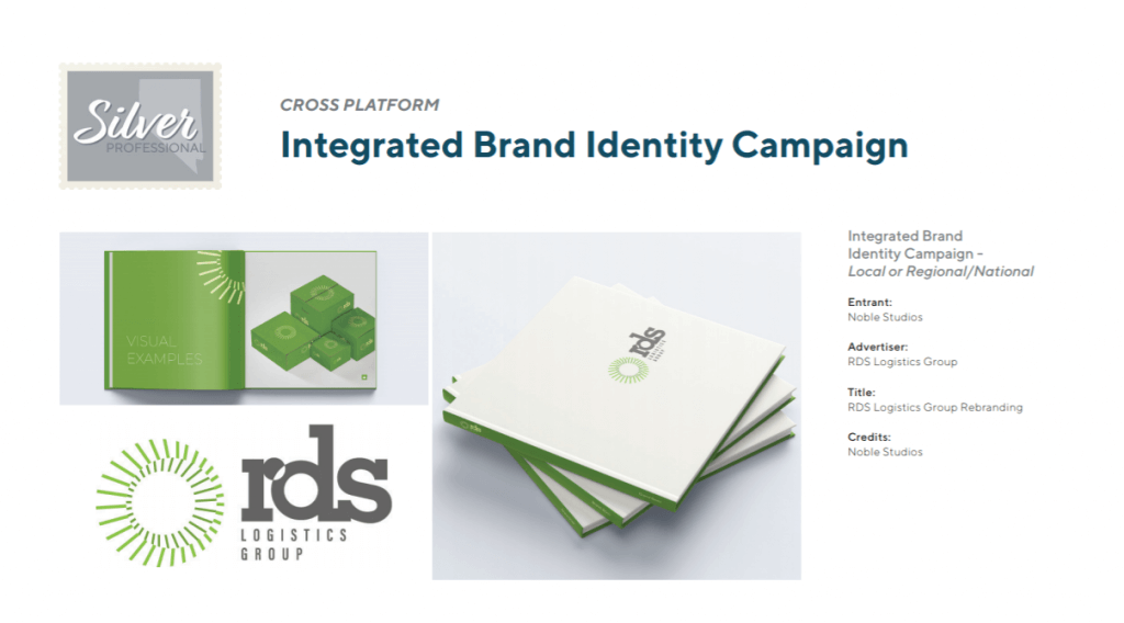 RDS brand book and logo