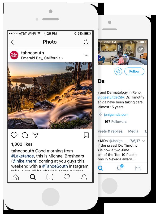Social Media Content Services
