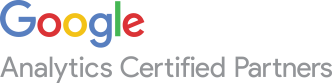 We are a Google Analytics Certified Partner