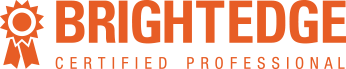We are a BrightEdge Certified Partner