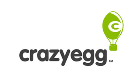 CrazyEgg shows you where people clicked on your site