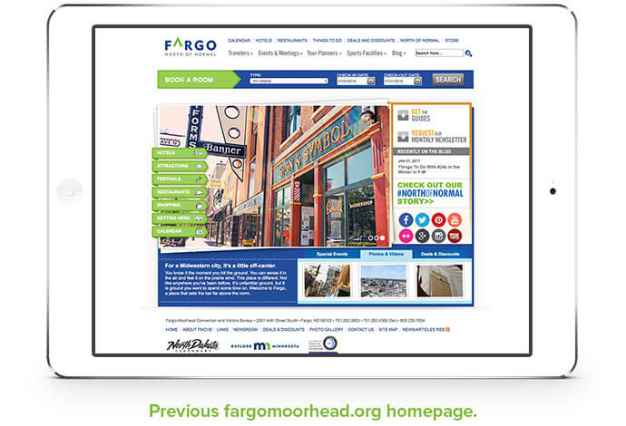 Fargo Moorhead Old Website