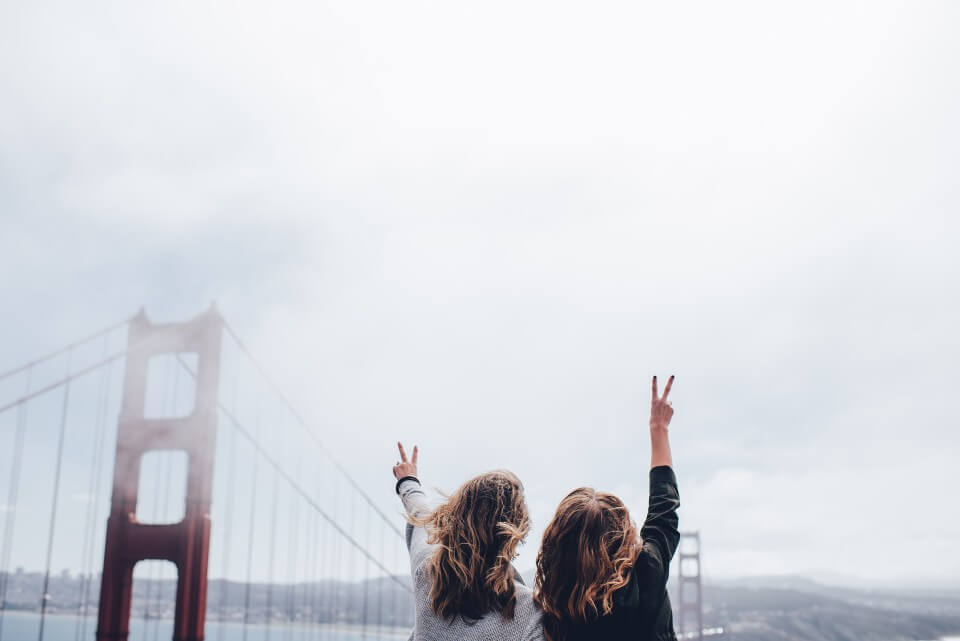 Travel trends 2021-two women in SF