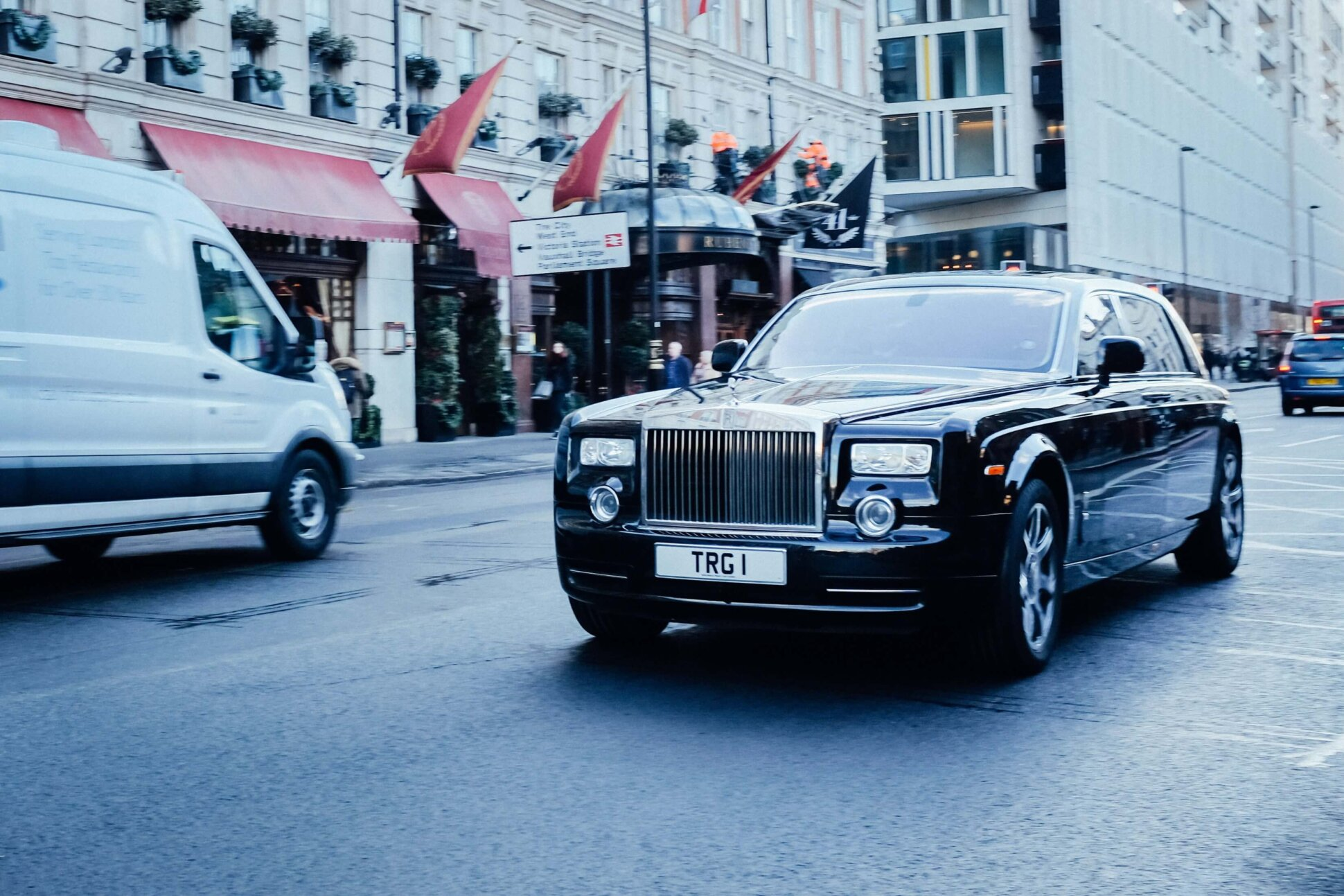 paid media client rolls royce