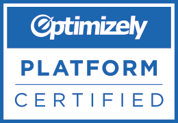 We are Optimizely Platform Certified