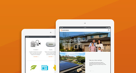 Enphase Energy Website Redesign