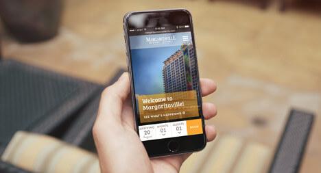 Margaritaville responsive website