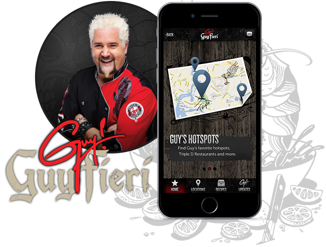 Guy Fieri Restaurant App