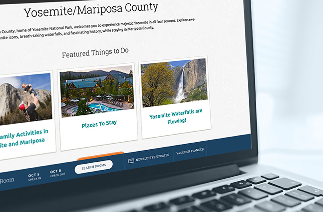 Yosemite Website Design