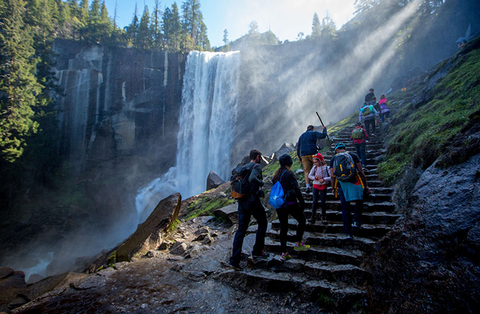 Yosemite Waterfall Hike